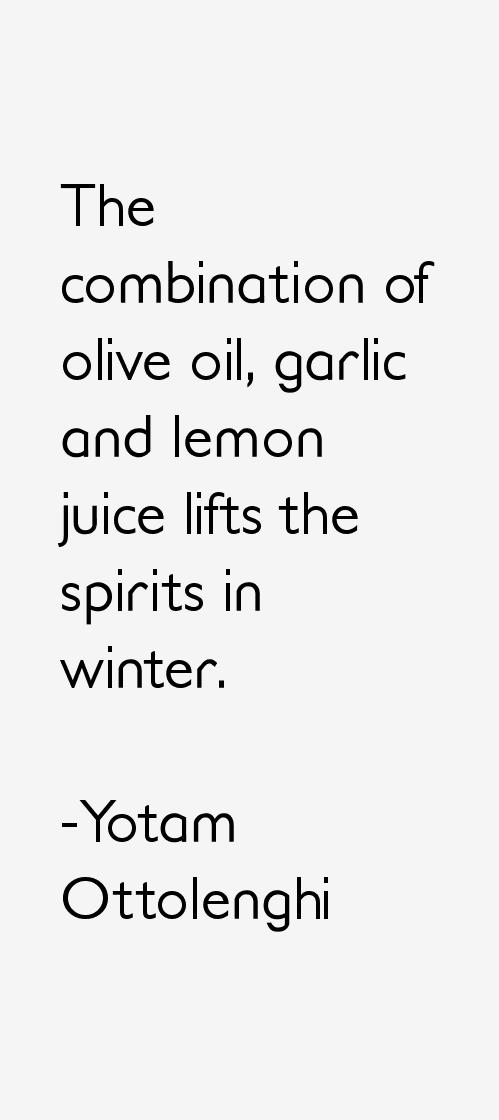 Yotam Ottolenghi Quotes