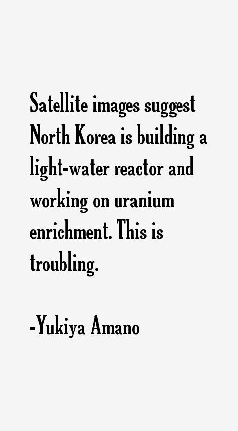 Yukiya Amano Quotes
