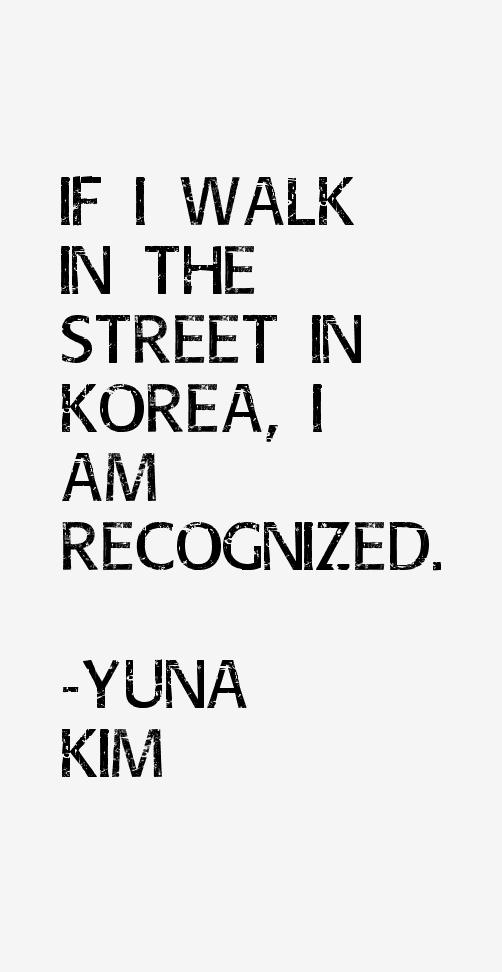 Yuna Kim Quotes