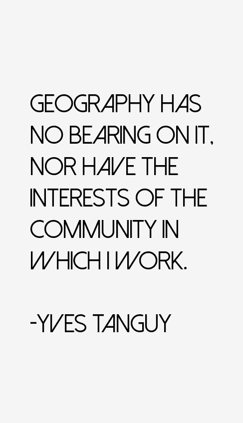 Yves Tanguy Quotes