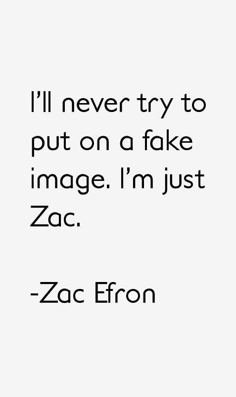 Zac Efron Quotes