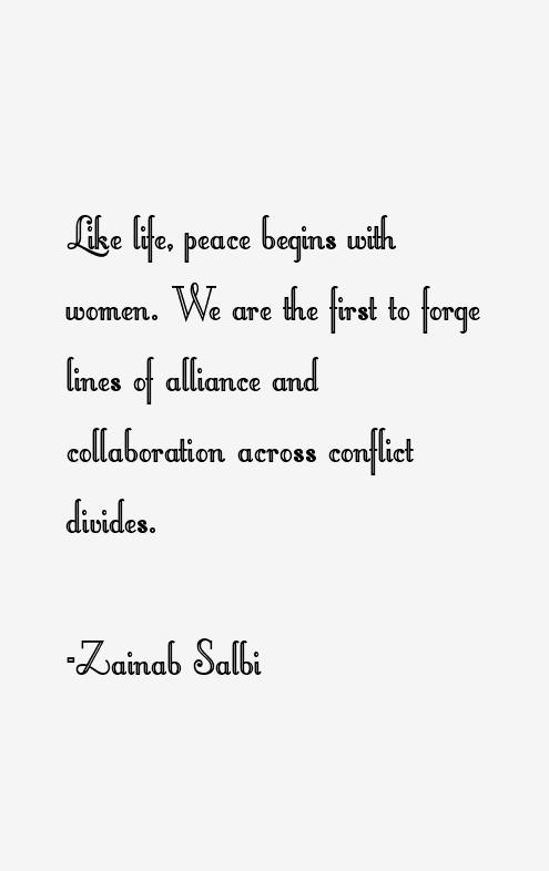 Zainab Salbi Quotes