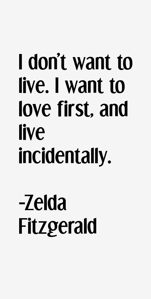 zelda fitzgerald quotes sayings