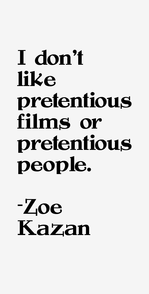 Zoe Kazan Quotes
