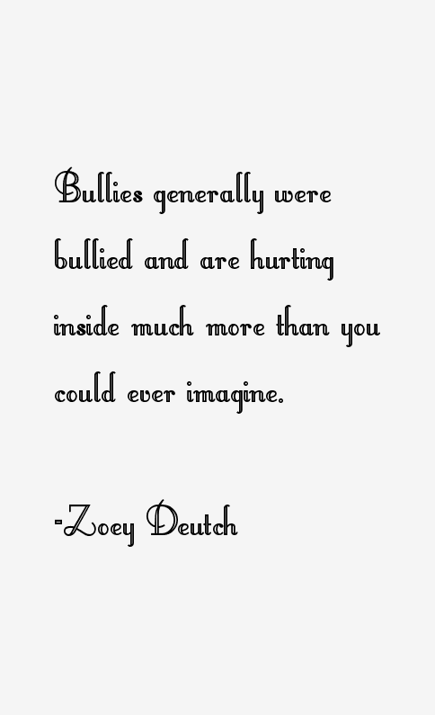Zoey Deutch Quotes
