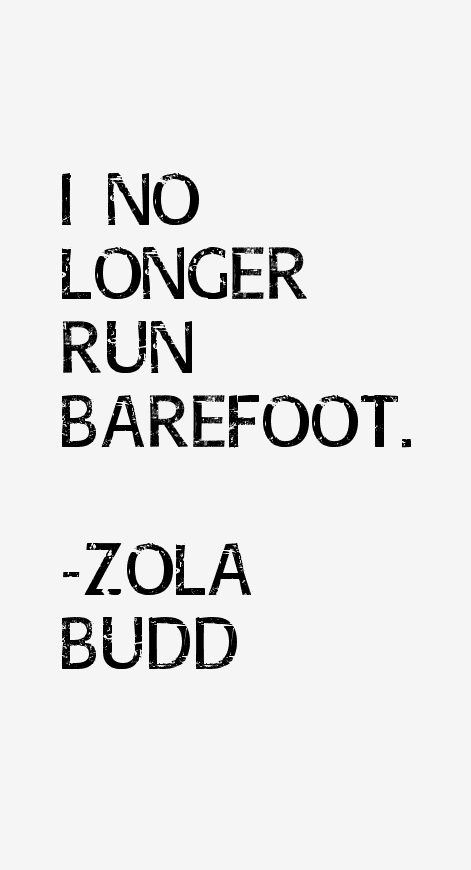 Zola Budd Quotes