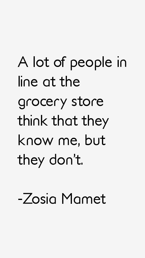 Zosia Mamet Quotes