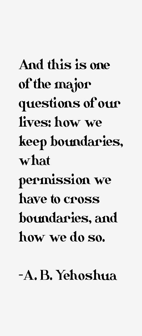 A. B. Yehoshua Quotes