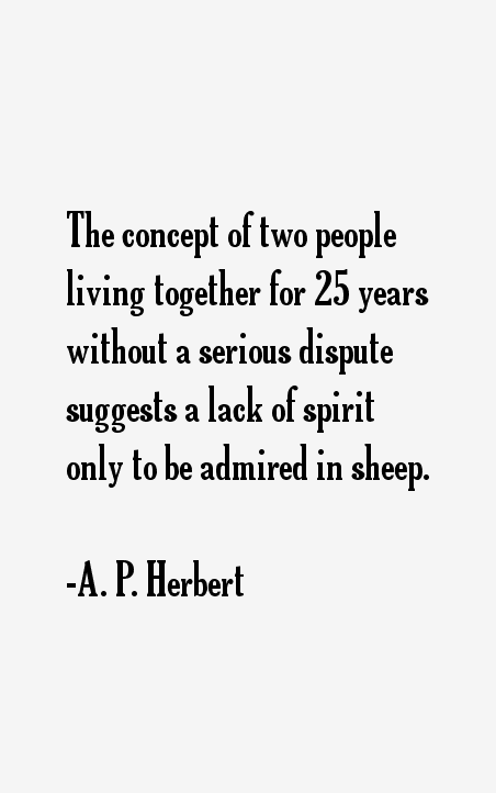 A. P. Herbert Quotes