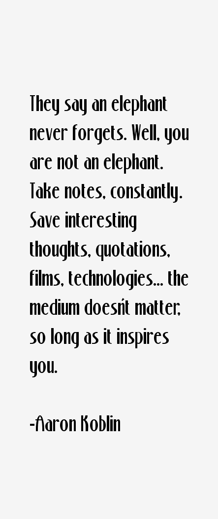 Aaron Koblin Quotes