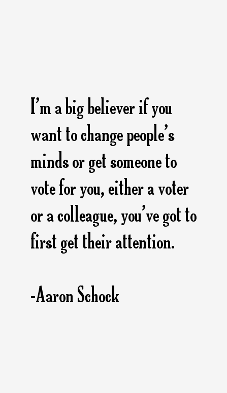 Aaron Schock Quotes