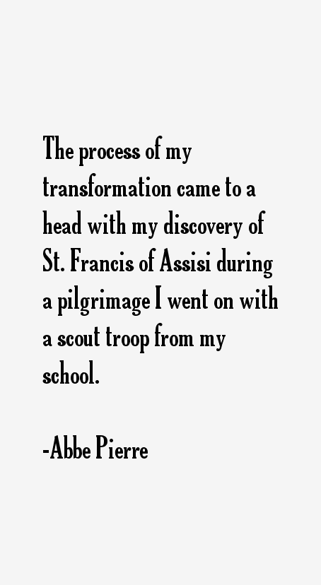 Abbe Pierre Quotes