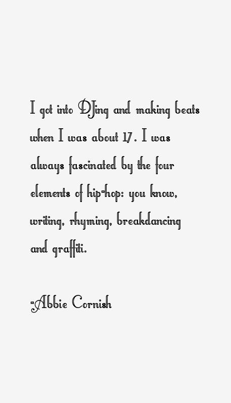 Abbie Cornish Quotes