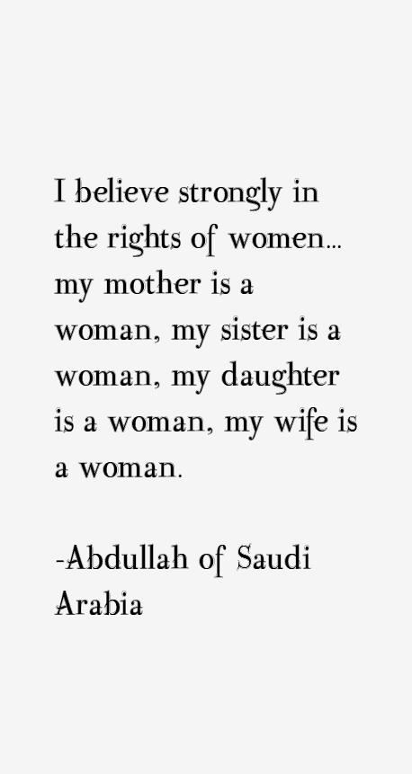 Abdullah of Saudi Arabia Quotes