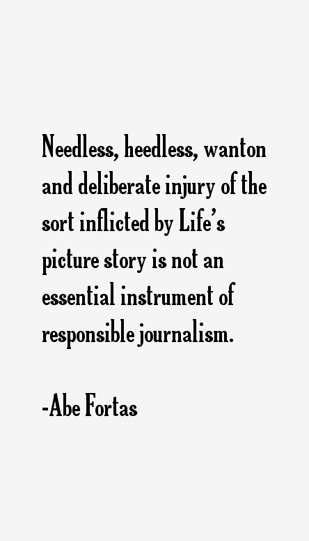 Abe Fortas Quotes