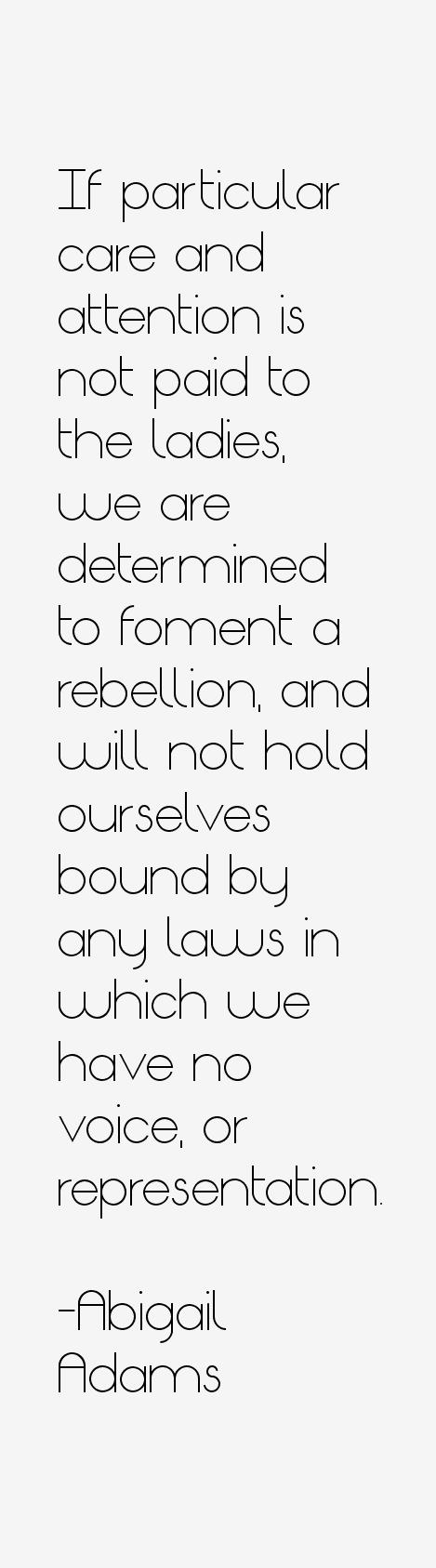 Abigail Adams Quotes