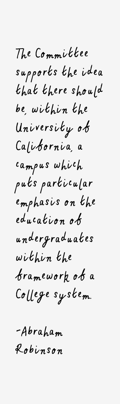 Abraham Robinson Quotes