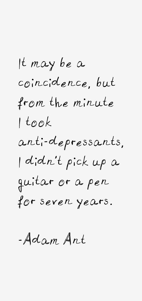 Adam Ant Quotes