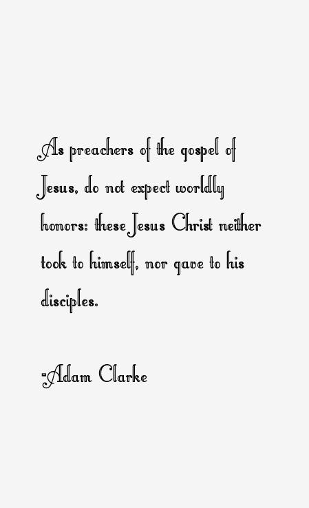 Adam Clarke Quotes