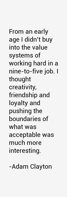 Adam Clayton Quotes