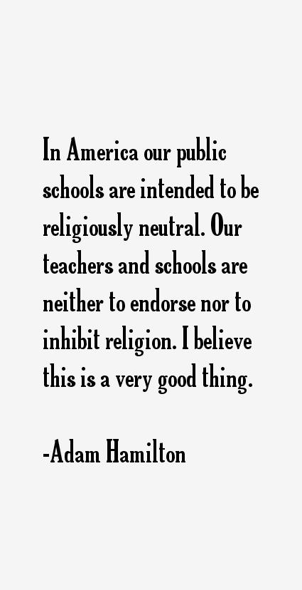 Adam Hamilton Quotes