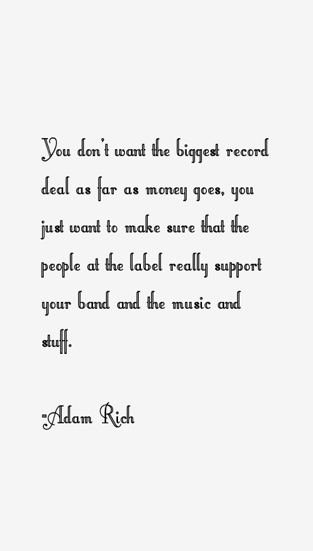 Adam Rich Quotes