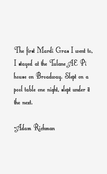 Adam Richman Quotes Sayings