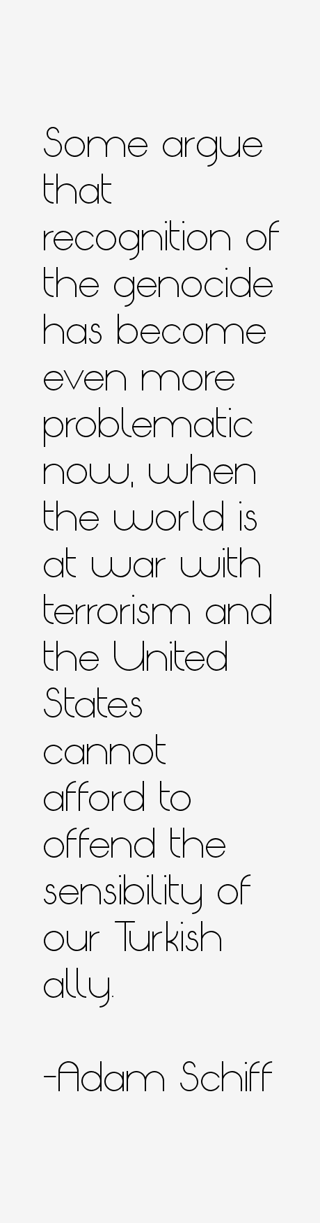Adam Schiff Quotes