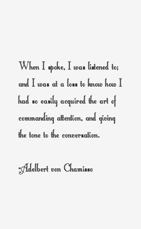 Adelbert Von Chamisso Poet Adelbert Von Chamisso Quotes