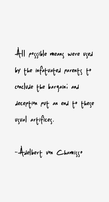 Adelbert von Chamisso Quotes