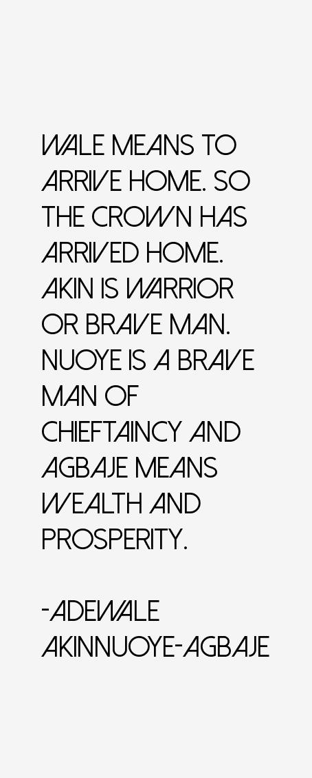 Adewale Akinnuoye-Agbaje Quotes