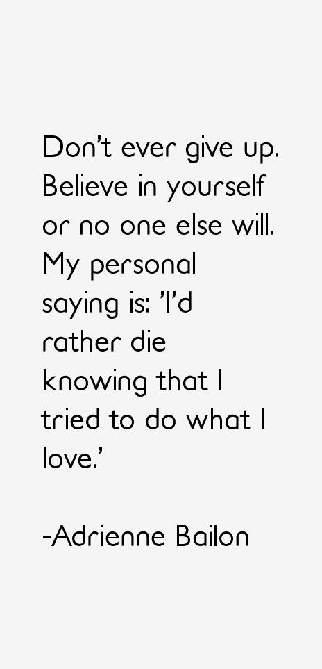 Adrienne Bailon Quotes