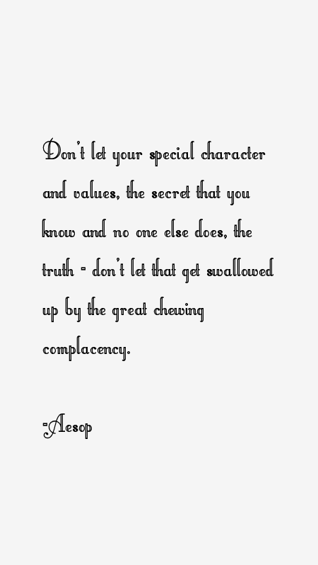 Aesop Quotes