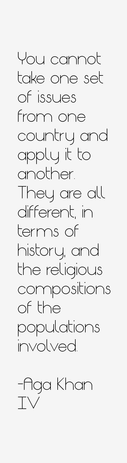 Aga Khan IV Quotes