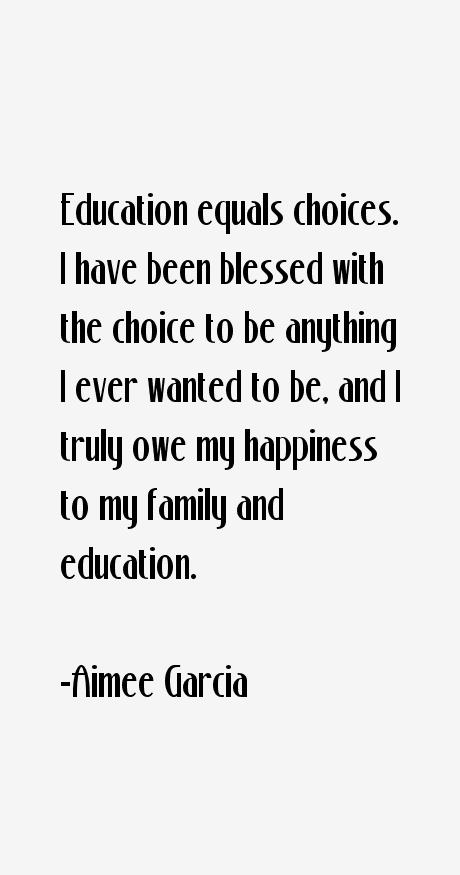 Aimee Garcia Quotes