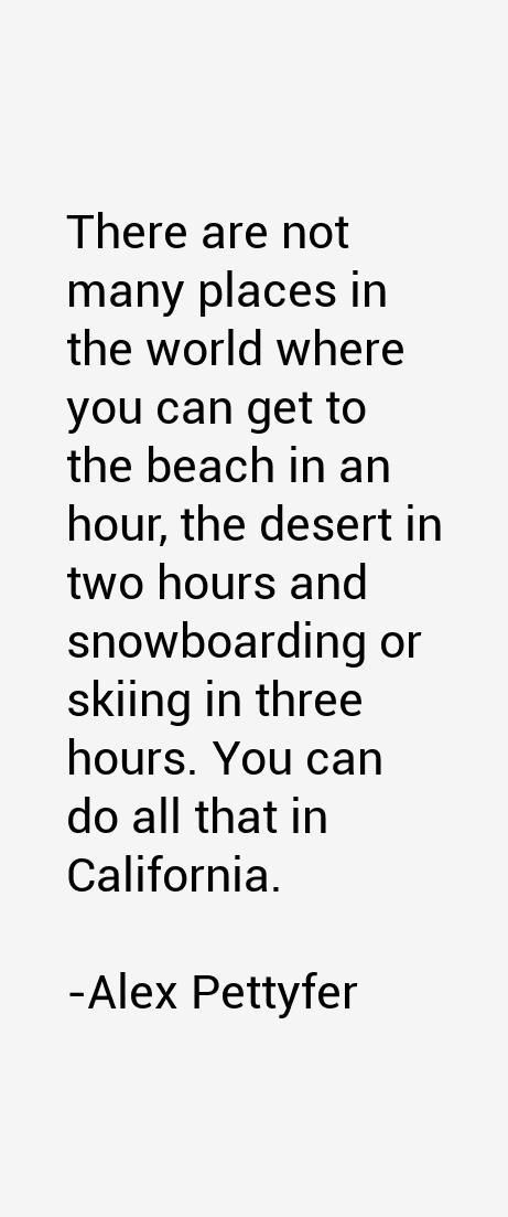 Alex Pettyfer Quotes