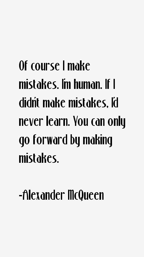 Alexander McQueen Quotes & Sayings