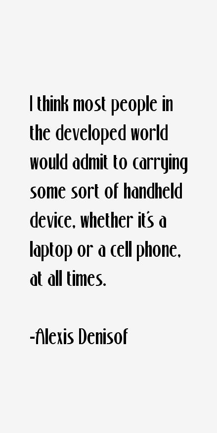 Alexis Denisof Quotes
