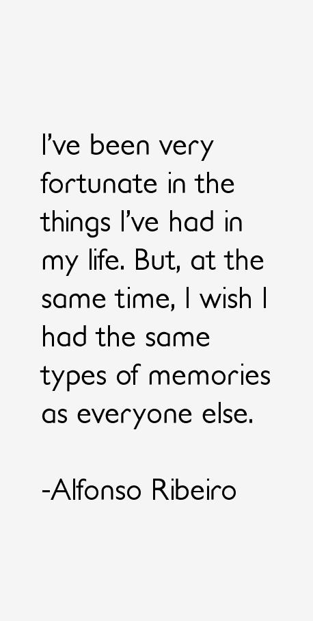 Alfonso Ribeiro Quotes