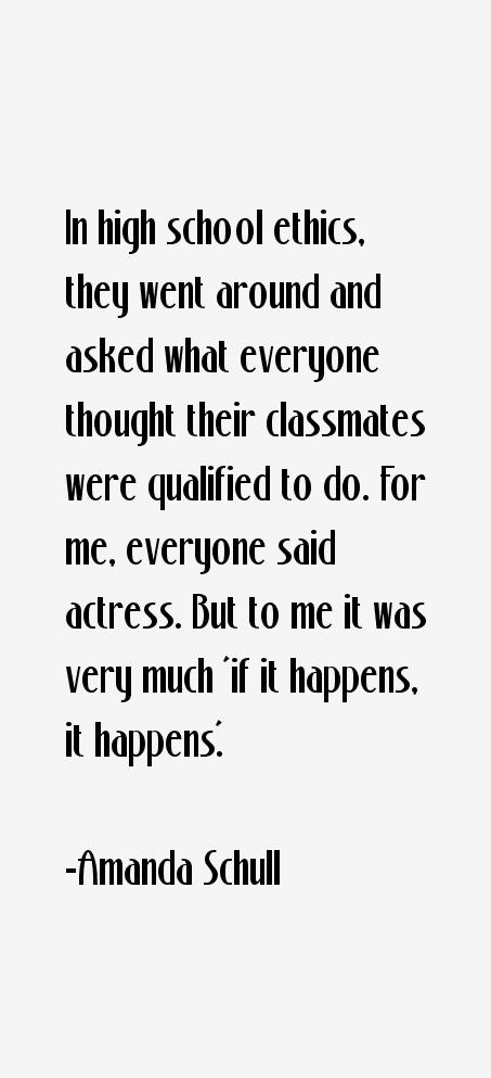 Amanda Schull Quotes
