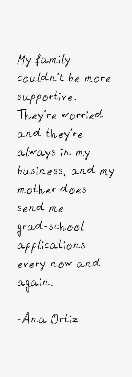 Ana Ortiz Quotes