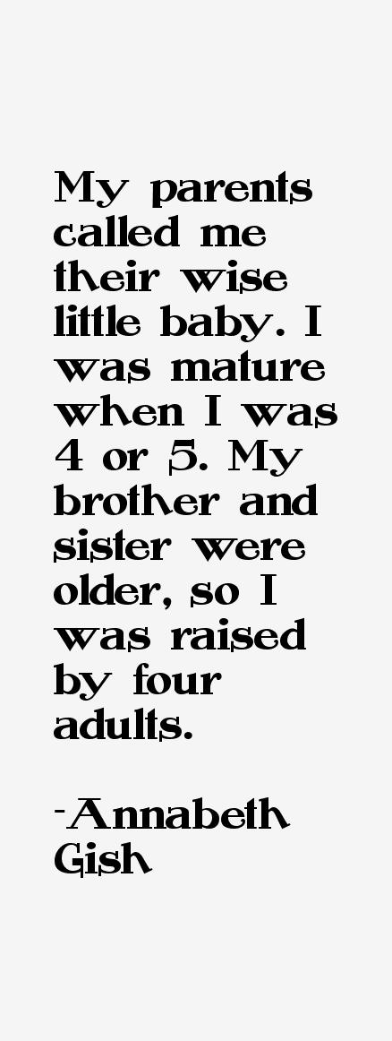 Annabeth Gish Quotes