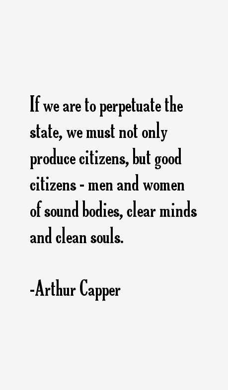 5fd1ce0fbd1 Arthur Capper Quotes   Sayings