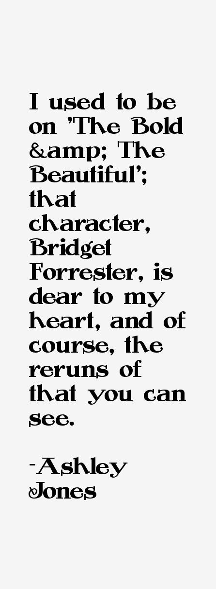 Ashley Jones Quotes