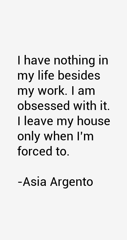 Asia Argento Quotes