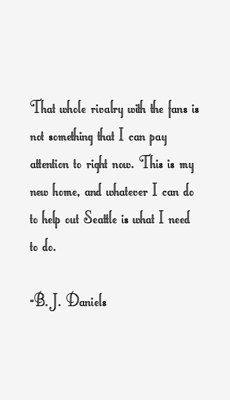 B. J. Daniels Quotes