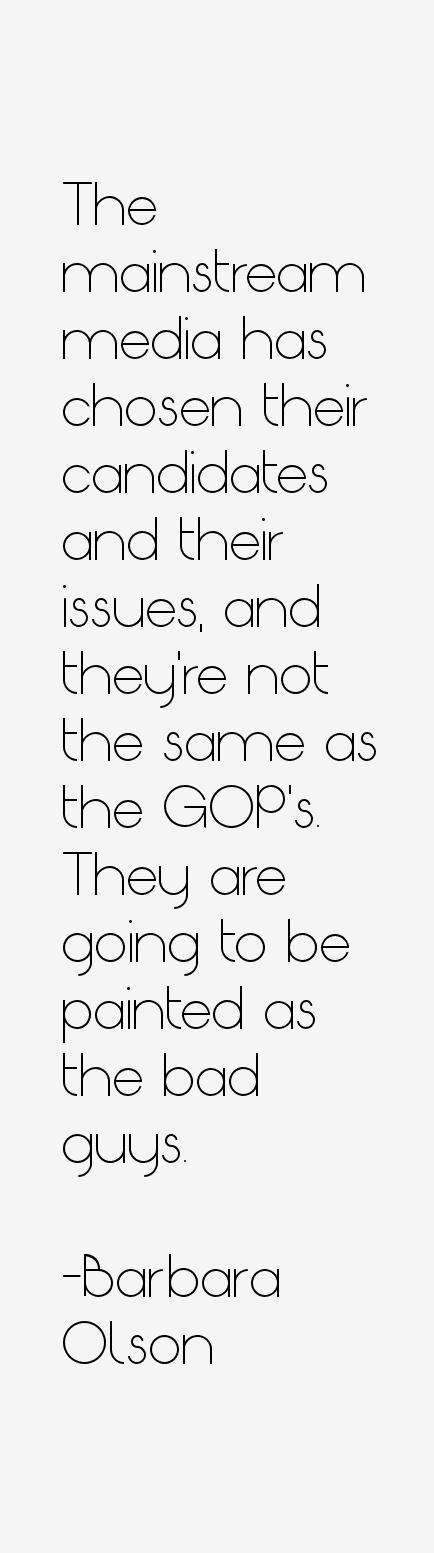 Barbara Olson Quotes