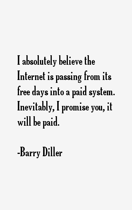 Barry Diller Quotes