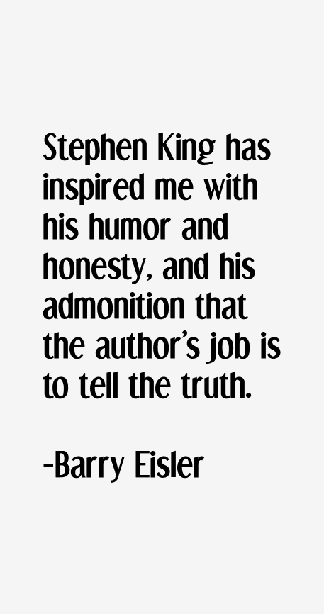 Barry Eisler Quotes