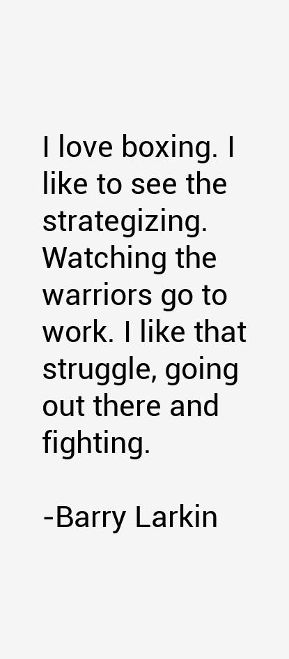 Barry Larkin Quotes